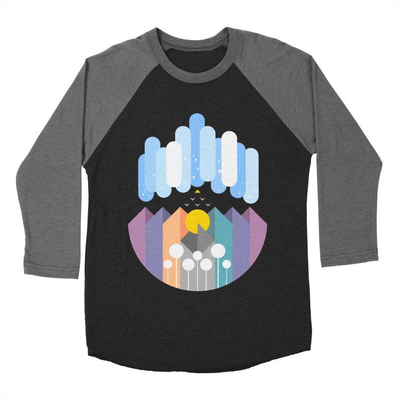 geomy Women's Baseball Triblend Longsleeve T-Shirt by muag's Artist Shop