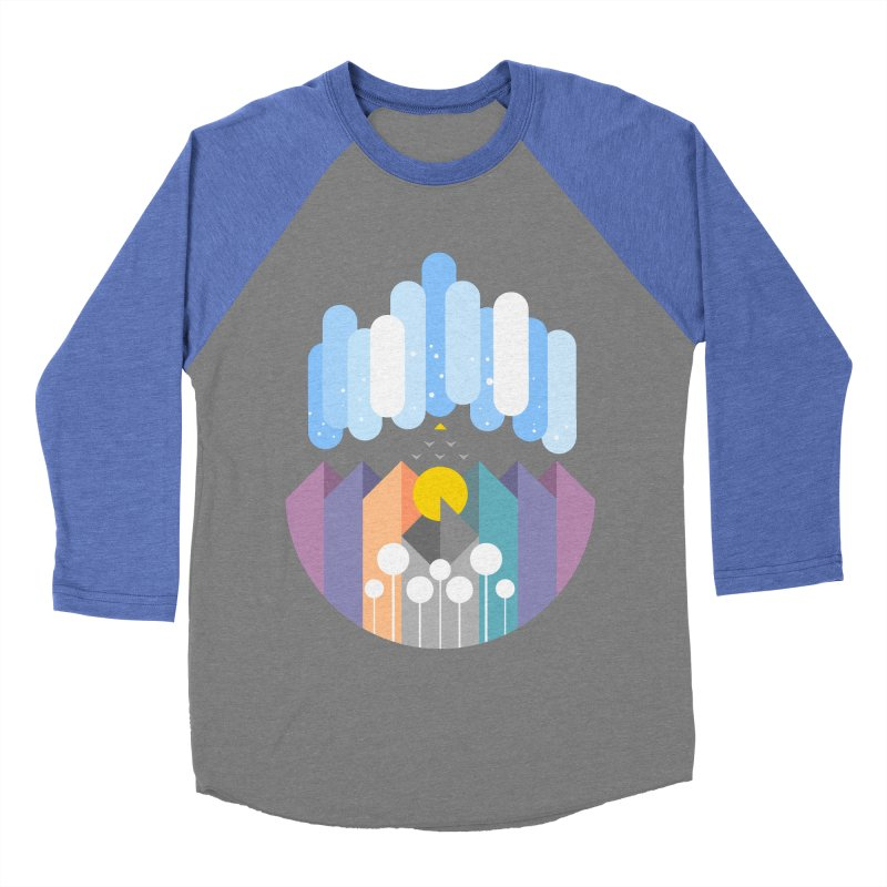geomy Men's Baseball Triblend T-Shirt by muag's Artist Shop