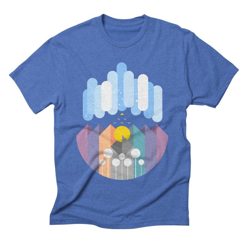 geomy Men's Triblend T-shirt by muag's Artist Shop