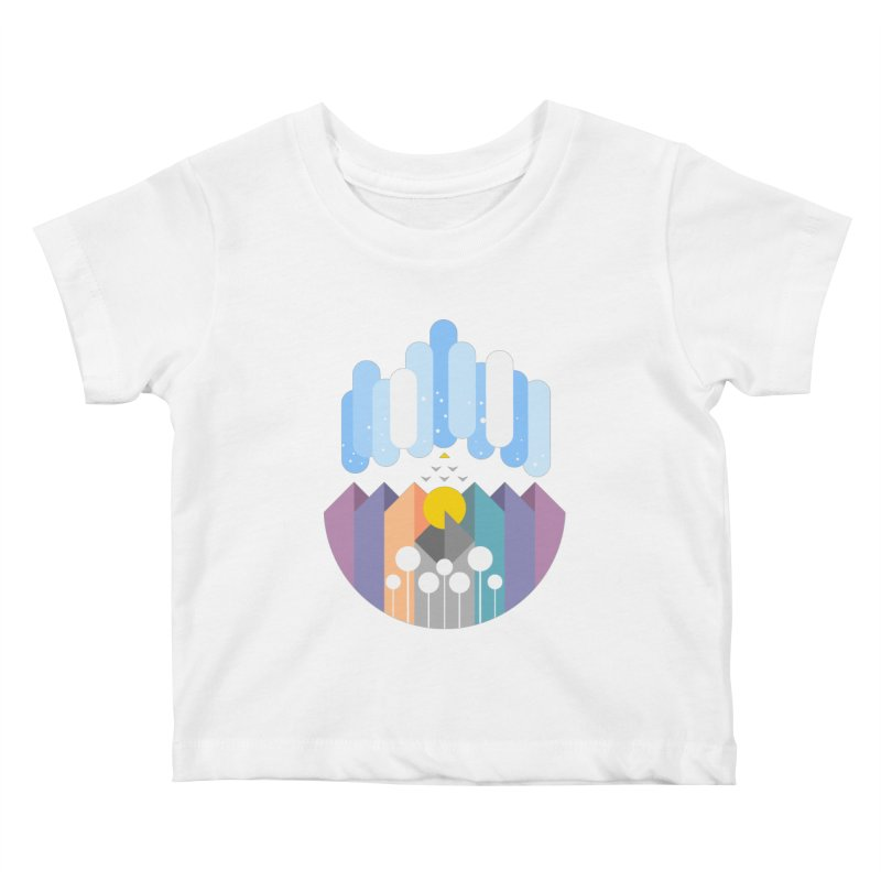 geomy Kids Baby T-Shirt by muag's Artist Shop
