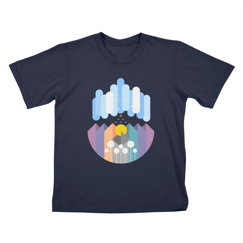 geomy Kids T-Shirt by muag's Artist Shop