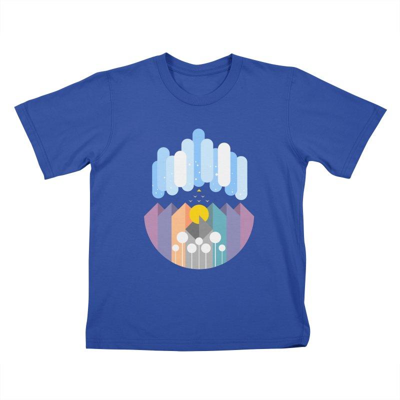 geomy Kids T-Shirt by muag's Artist Shop