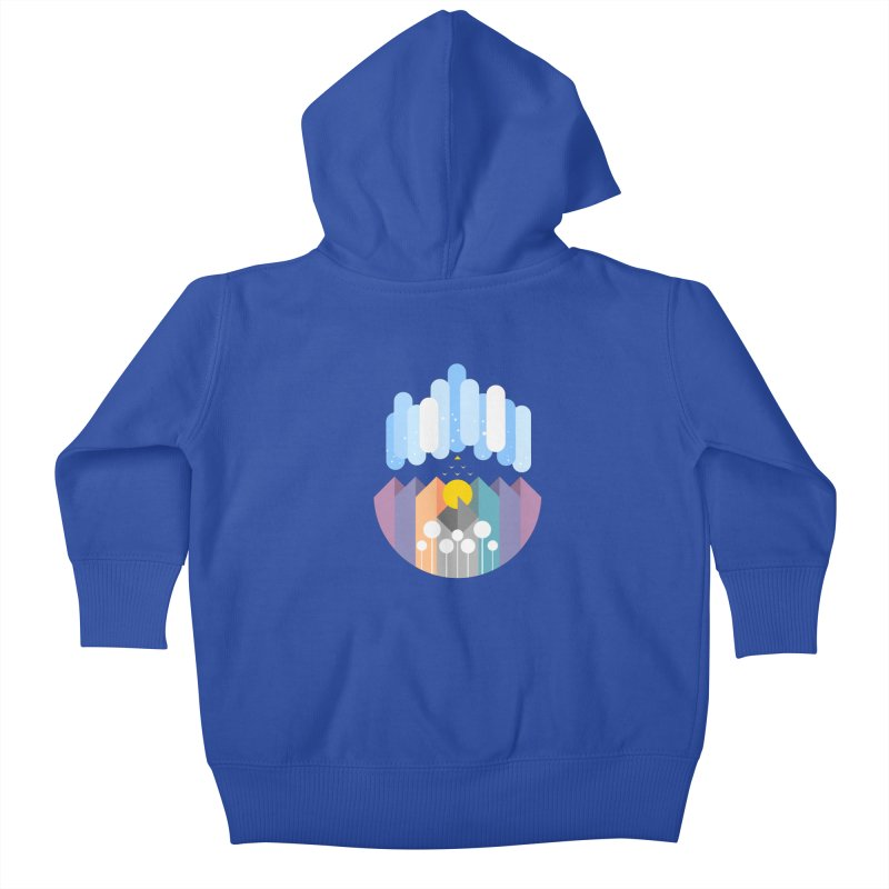 geomy Kids Baby Zip-Up Hoody by muag's Artist Shop