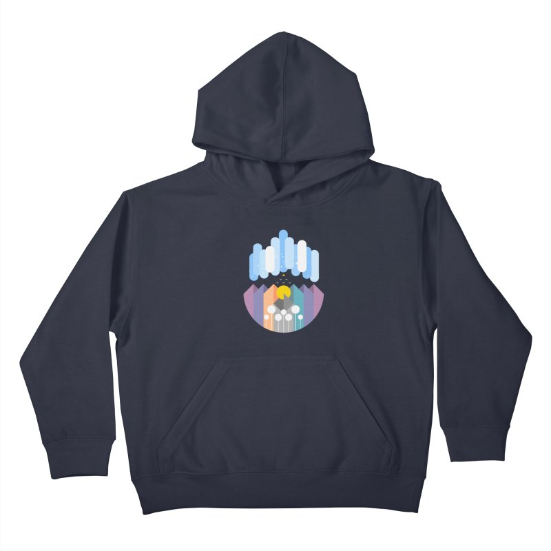 geomy Kids Pullover Hoody by muag's Artist Shop