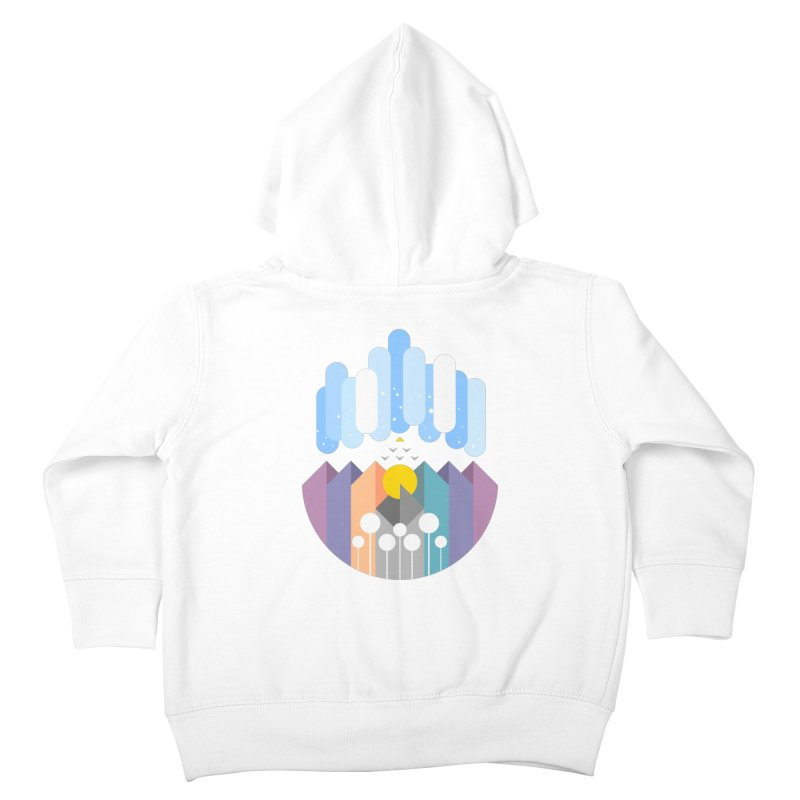 geomy Kids Toddler Zip-Up Hoody by muag's Artist Shop