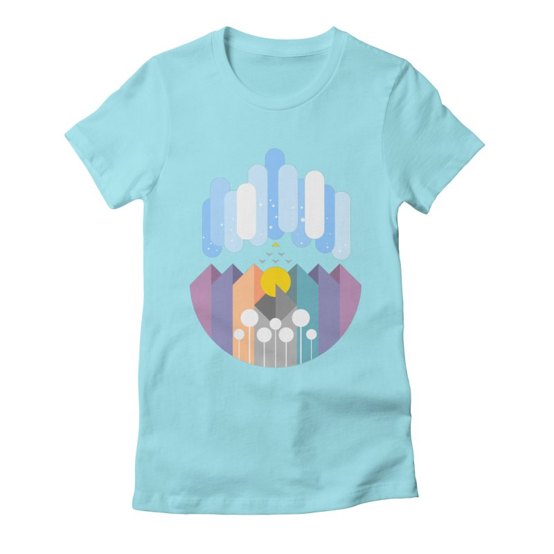 geomy Women's Fitted T-Shirt by muag's Artist Shop