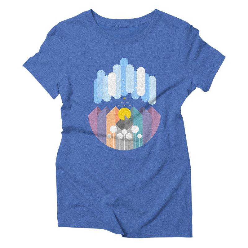 geomy Women's Triblend T-Shirt by muag's Artist Shop