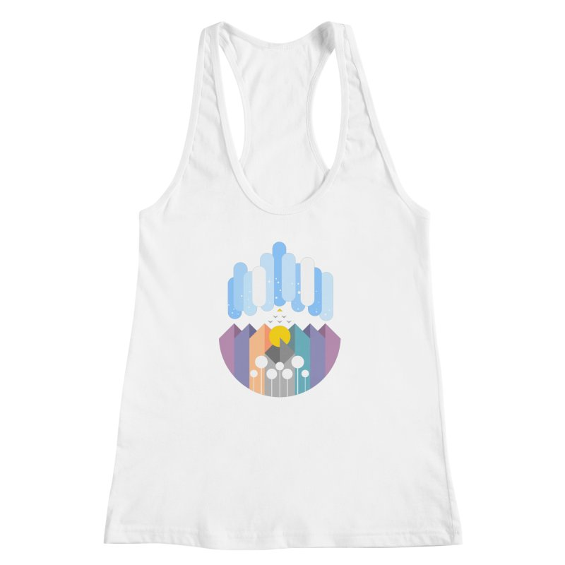 geomy Women's Racerback Tank by muag's Artist Shop