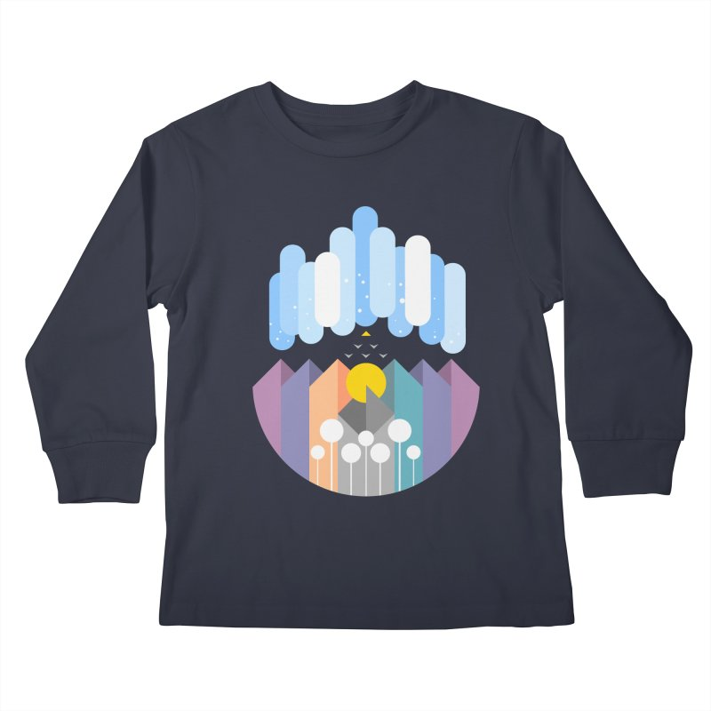 geomy Kids Longsleeve T-Shirt by muag's Artist Shop