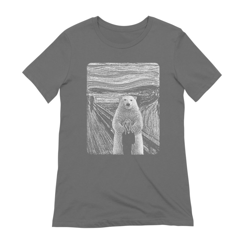 bear factor Women's T-Shirt by muag's Artist Shop
