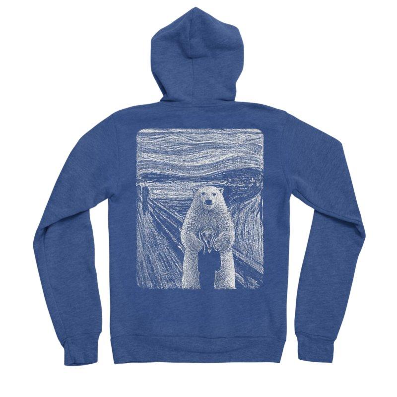 bear factor Men's Zip-Up Hoody by muag's Artist Shop
