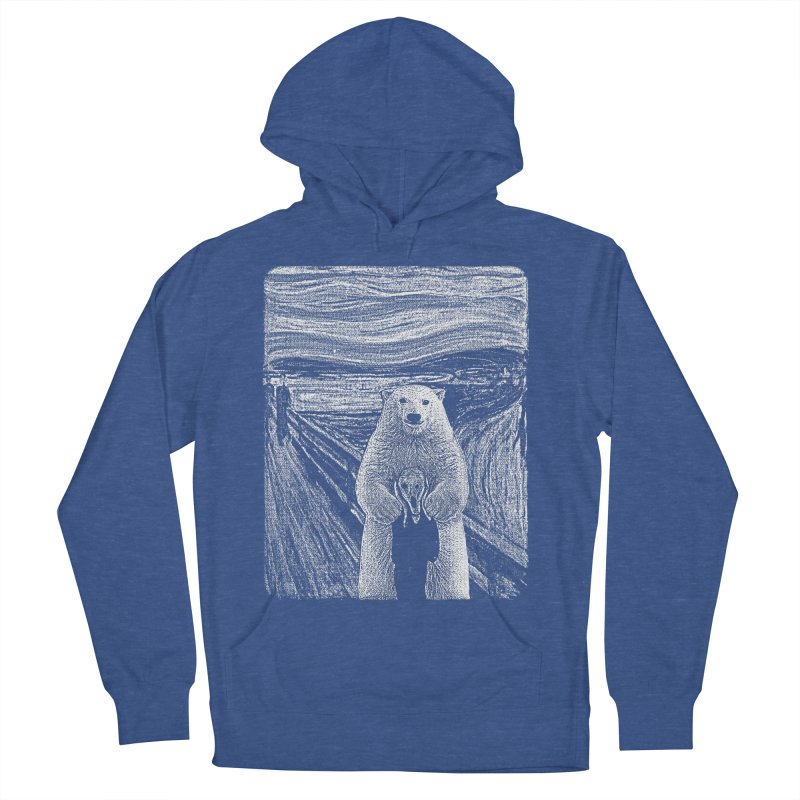 bear factor Women's French Terry Pullover Hoody by muag's Artist Shop