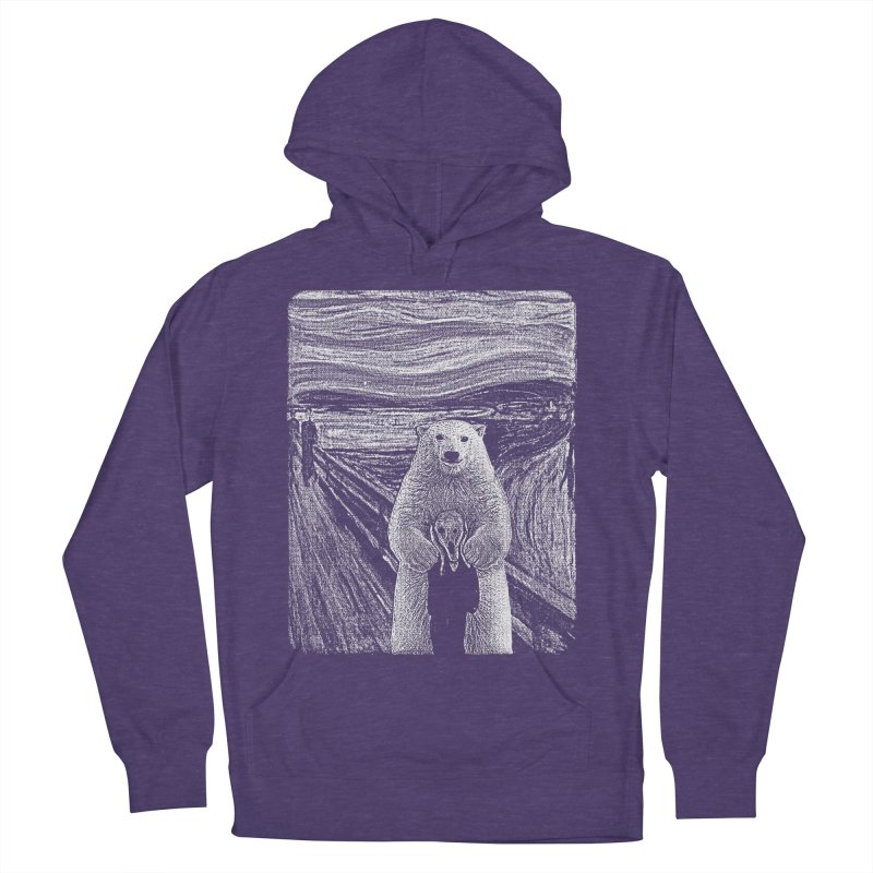 bear factor Men's French Terry Pullover Hoody by muag's Artist Shop