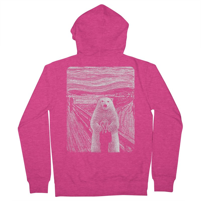 bear factor Women's Zip-Up Hoody by muag's Artist Shop