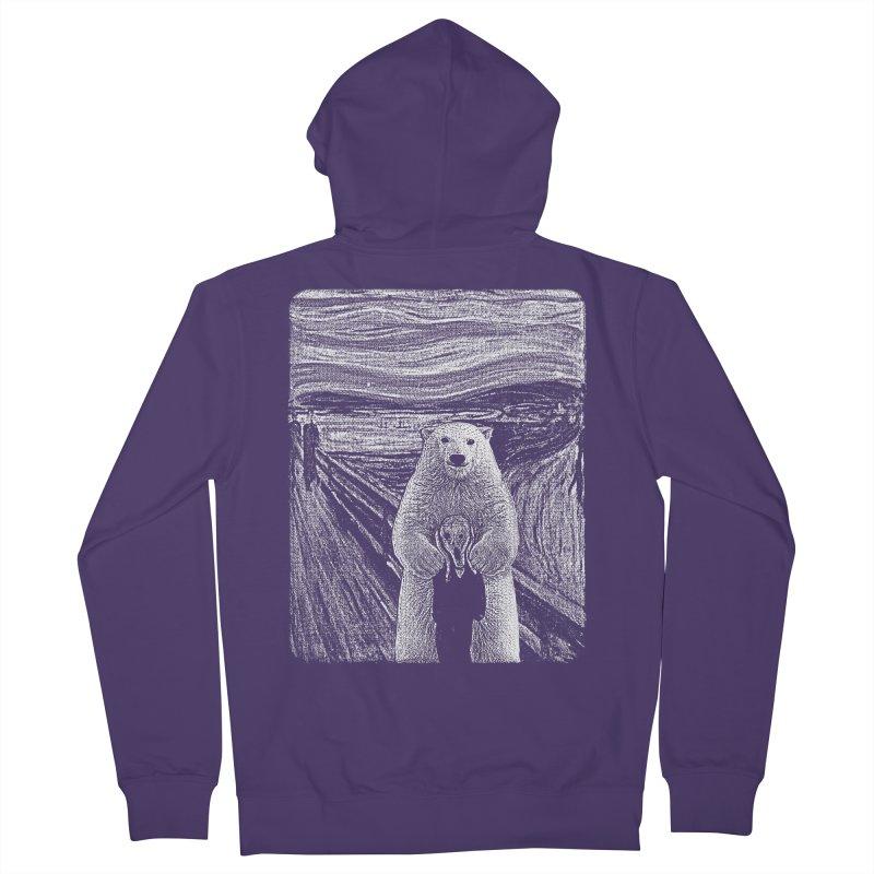 bear factor Women's Zip-Up Hoody by muag's Artist Shop