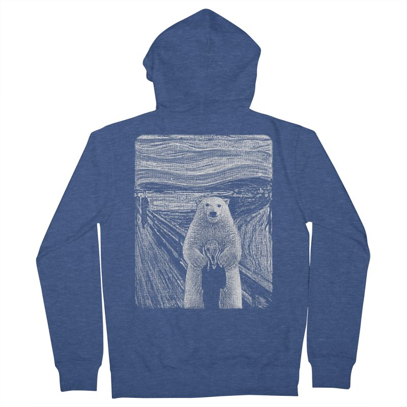 bear factor Men's Zip-Up Hoody by muag's Artist Shop