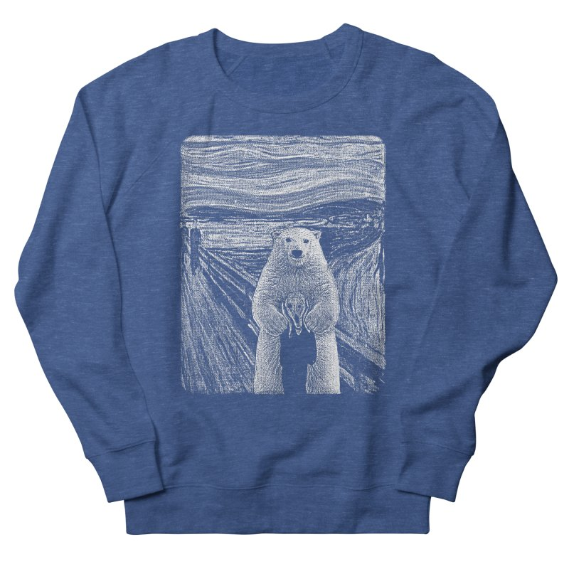 bear factor Men's French Terry Sweatshirt by muag's Artist Shop