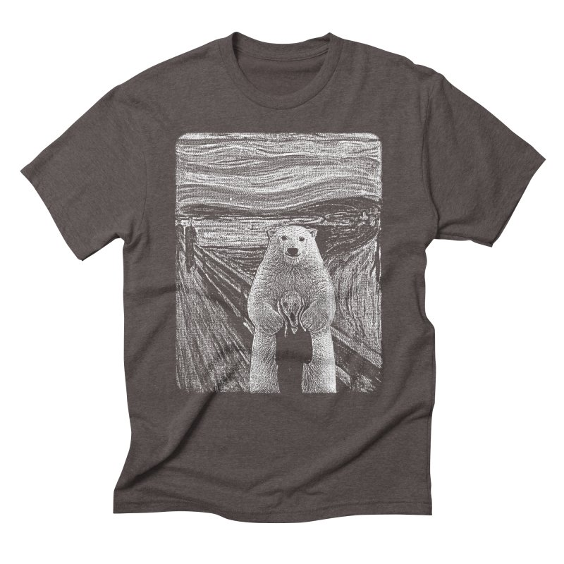 bear factor Men's Triblend T-Shirt by muag's Artist Shop