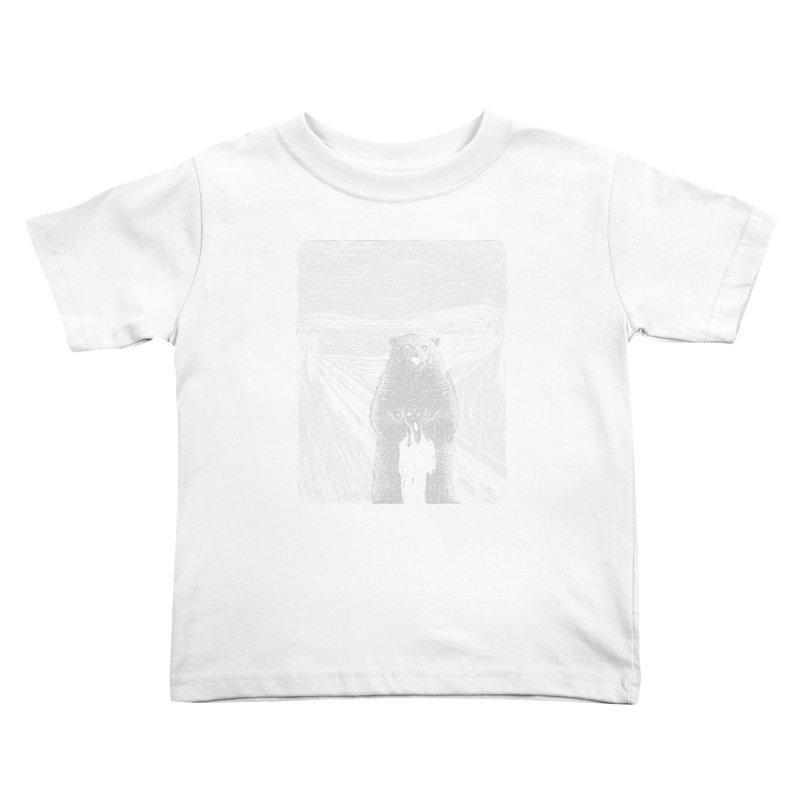 bear factor Kids Toddler T-Shirt by muag's Artist Shop