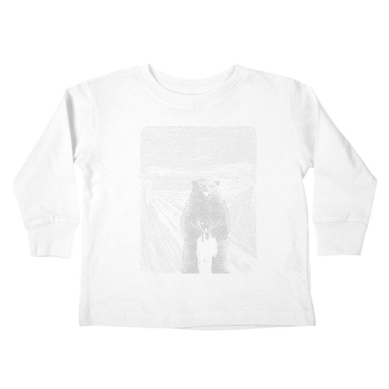 bear factor Kids Toddler Longsleeve T-Shirt by muag's Artist Shop