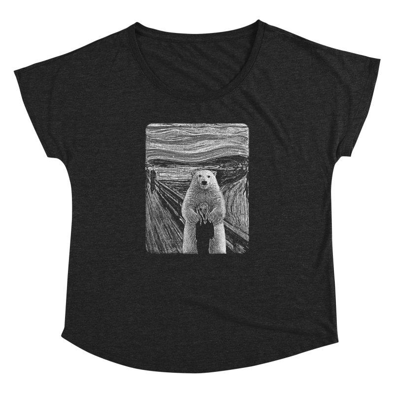 bear factor Women's Dolman Scoop Neck by muag's Artist Shop
