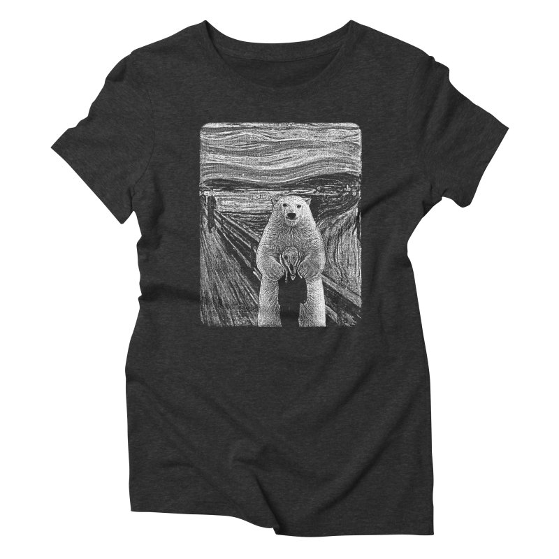 bear factor Women's Triblend T-Shirt by muag's Artist Shop