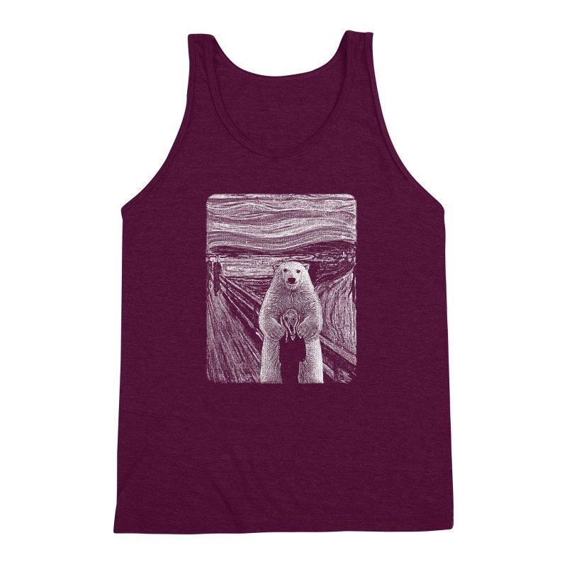 bear factor Men's Triblend Tank by muag's Artist Shop