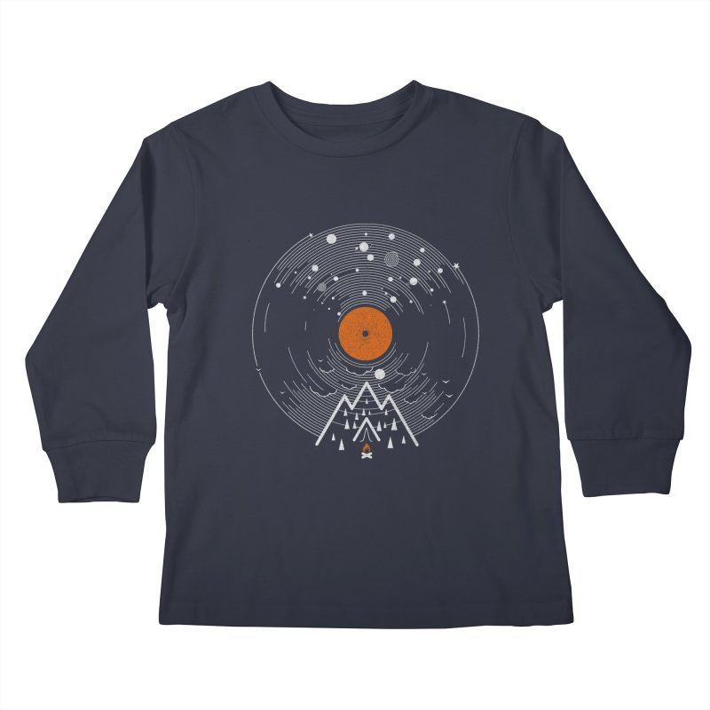 re/cordless Kids Longsleeve T-Shirt by muag's Artist Shop