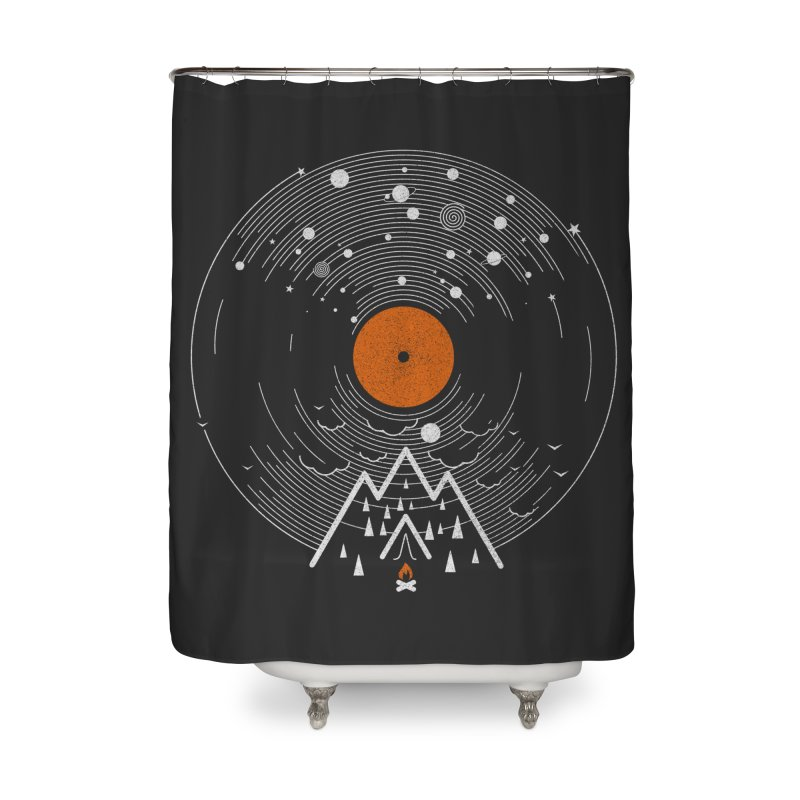 re/cordless Home Shower Curtain by muag's Artist Shop
