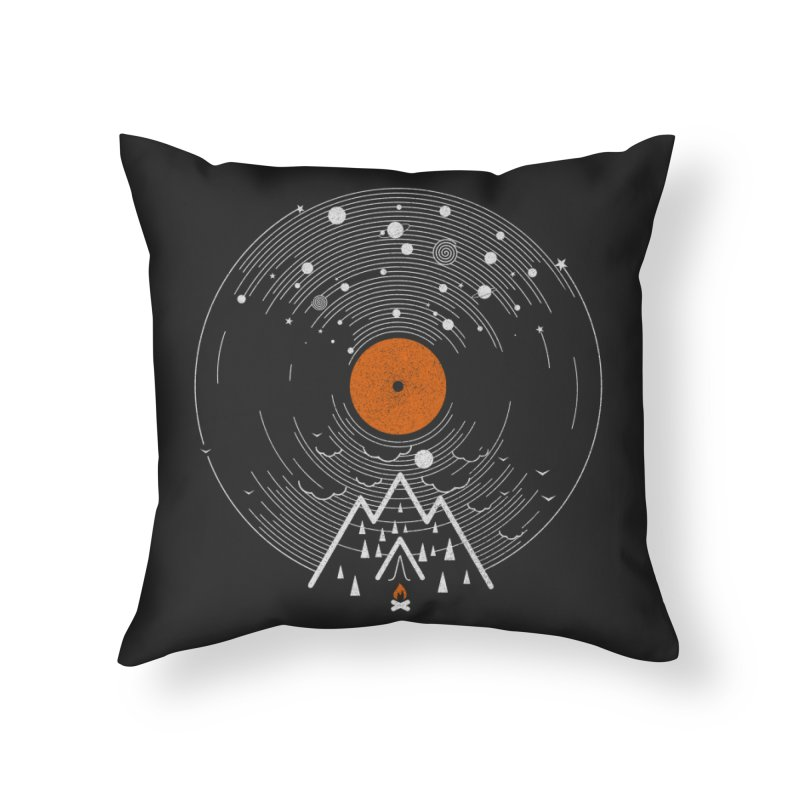 re/cordless Home Throw Pillow by muag's Artist Shop