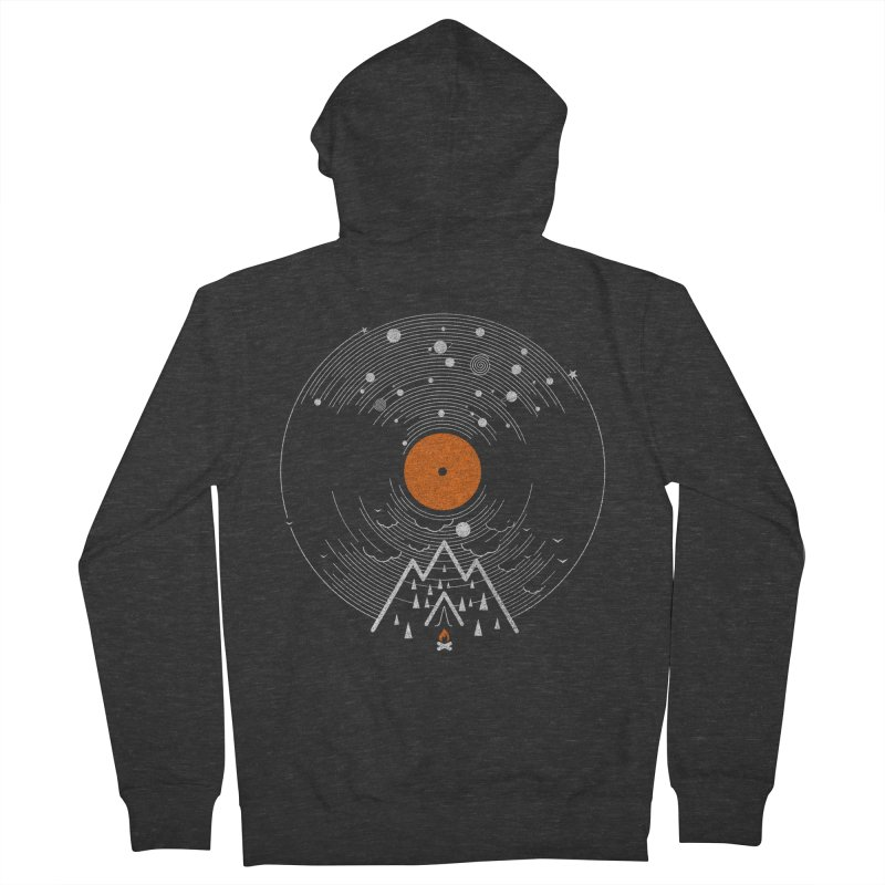 re/cordless Men's French Terry Zip-Up Hoody by muag's Artist Shop