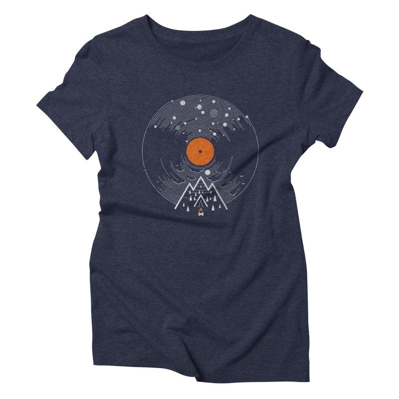 re/cordless Women's Triblend T-shirt by muag's Artist Shop