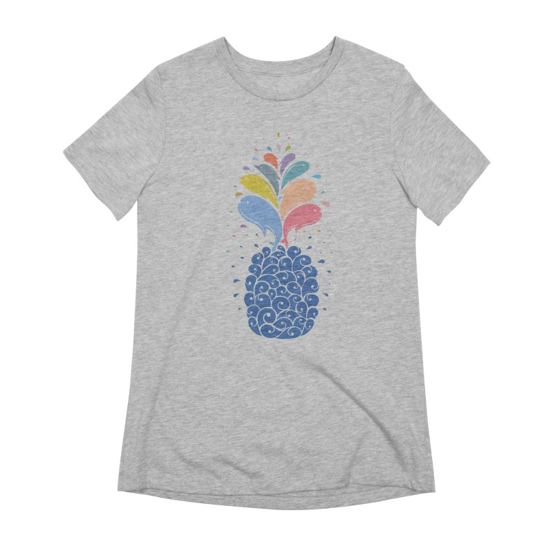 seapple Women's Extra Soft T-Shirt by muag's Artist Shop