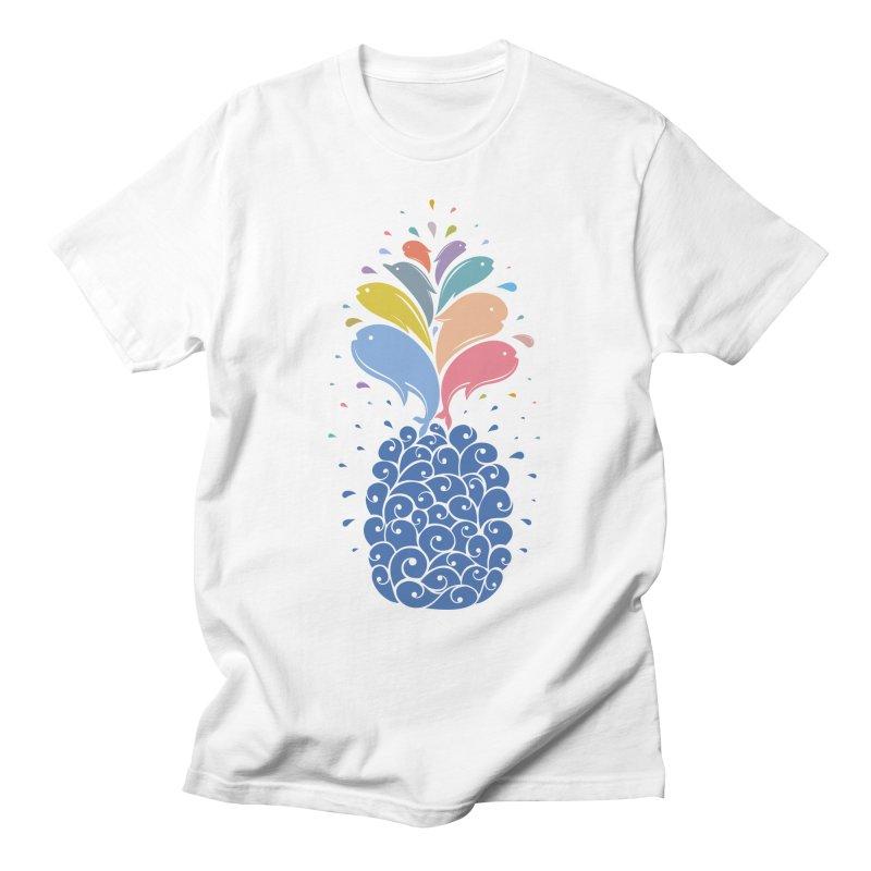 seapple Men's T-Shirt by muag's Artist Shop