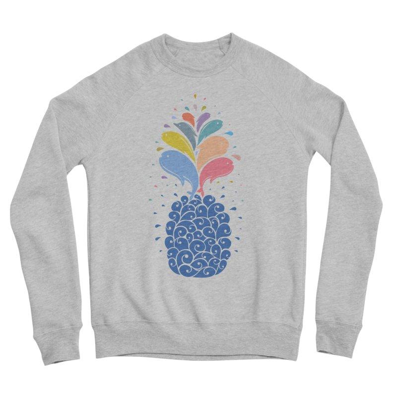seapple Women's Sponge Fleece Sweatshirt by muag's Artist Shop