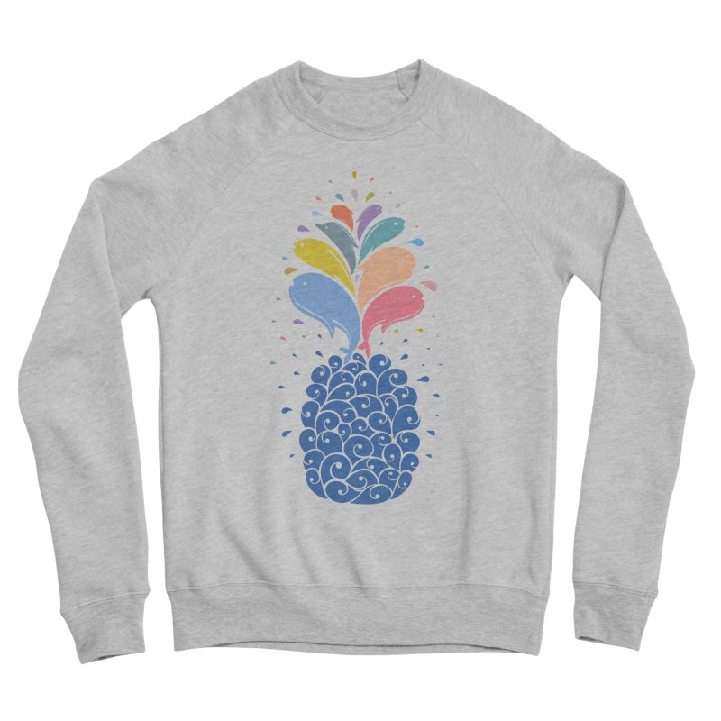 seapple Men's Sponge Fleece Sweatshirt by muag's Artist Shop