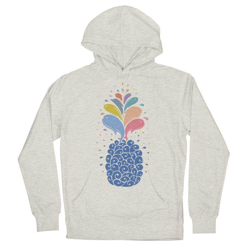 seapple Women's French Terry Pullover Hoody by muag's Artist Shop