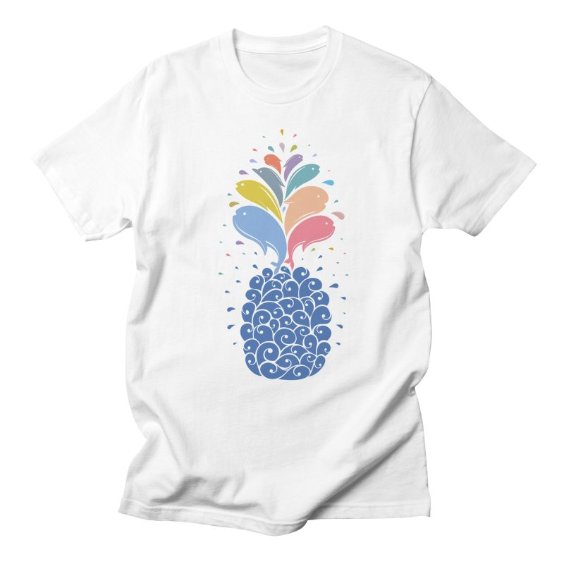seapple Men's T-Shirt by muag's Artist Shop