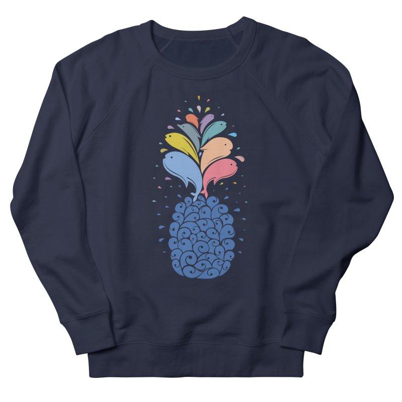 seapple Men's French Terry Sweatshirt by muag's Artist Shop