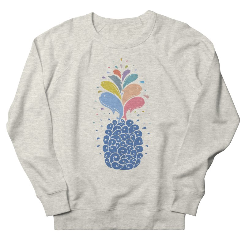 seapple Men's French Terry Sweatshirt by muag's Artist Shop