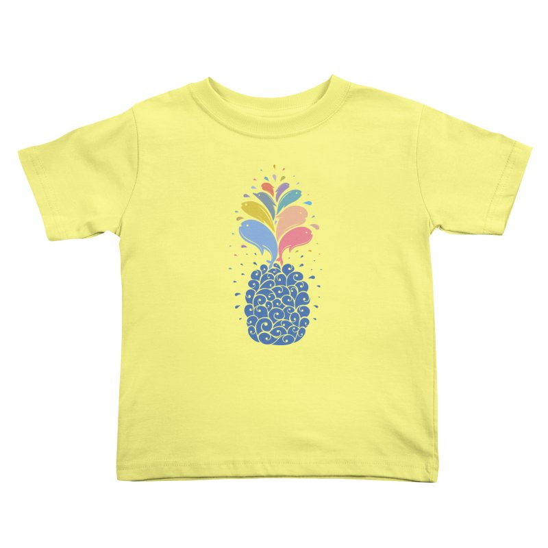 seapple Kids Toddler T-Shirt by muag's Artist Shop