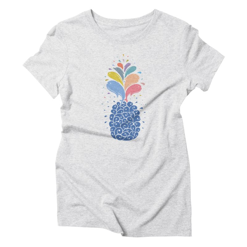 seapple Women's T-Shirt by muag's Artist Shop