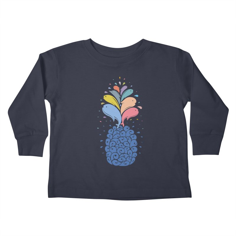 seapple Kids Toddler Longsleeve T-Shirt by muag's Artist Shop