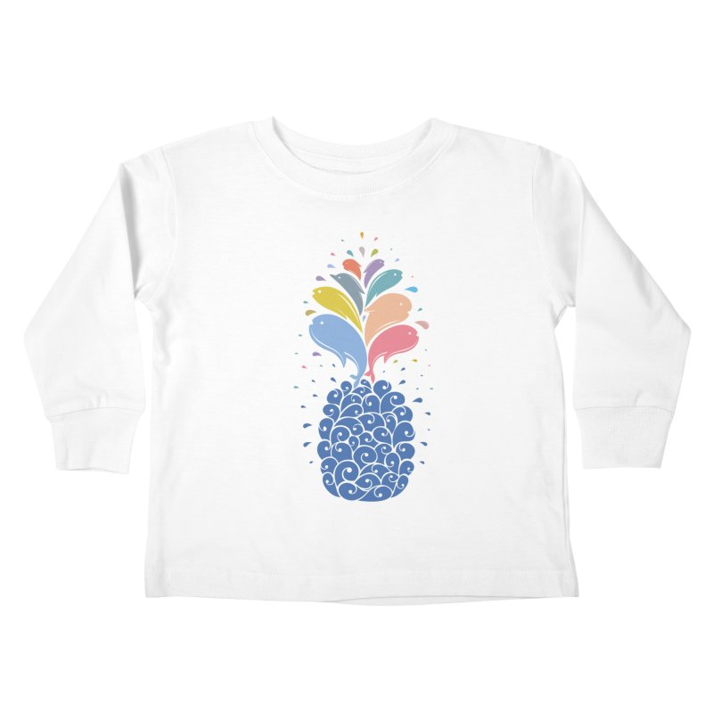 seapple Kids Toddler Longsleeve T-Shirt by muag's Artist Shop