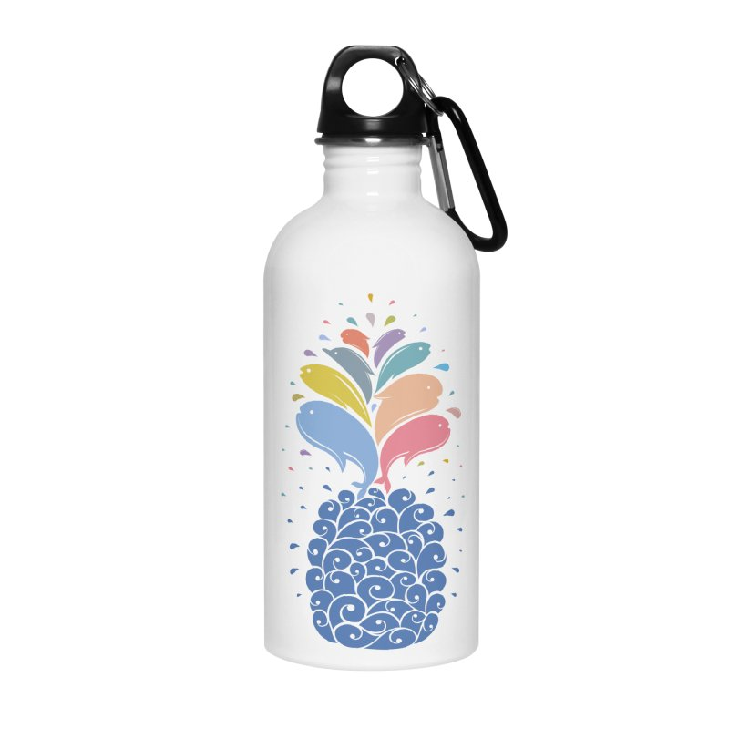 seapple Accessories Water Bottle by muag's Artist Shop