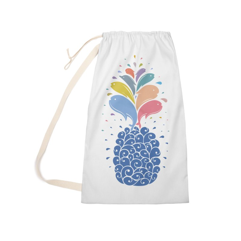 seapple Accessories Laundry Bag Bag by muag's Artist Shop