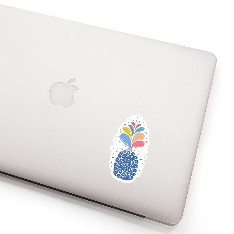 seapple Accessories Sticker by muag's Artist Shop