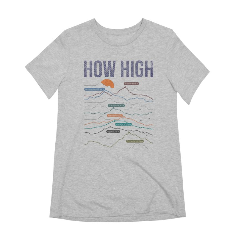 how high Women's Extra Soft T-Shirt by muag's Artist Shop