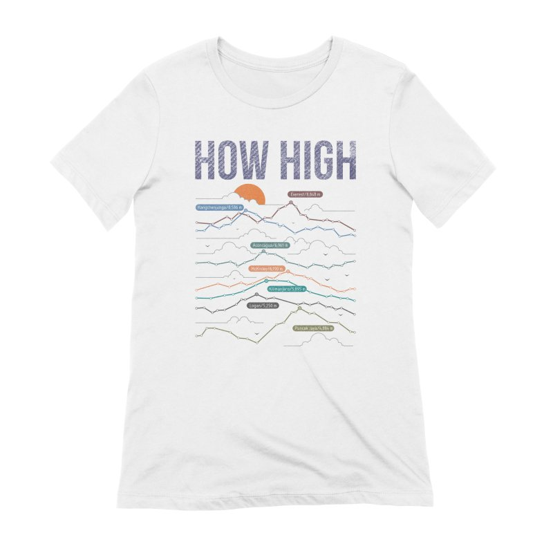 how high Women's Extra Soft T-Shirt by muag's Artist Shop