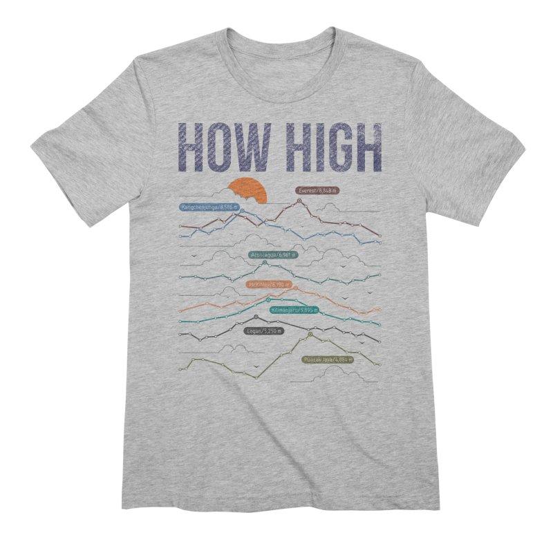 how high Men's Extra Soft T-Shirt by muag's Artist Shop